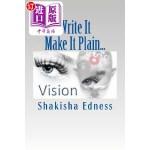 【中商海外直订】Write It Make It Plain...: Write the Vision Make It