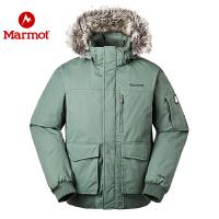 Marmot/土拨鼠男式防水透气防风保暖700蓬休闲羽绒服_J81680