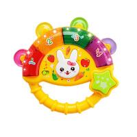 一个月宝宝玩具 新生儿0-6-12个月早教音乐手摇铃婴幼儿童玩具