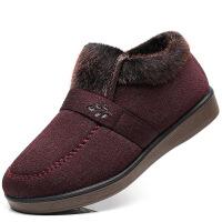 2019新款老北京布鞋冬季老人老太太女鞋保暖老年妈妈鞋加厚女鞋