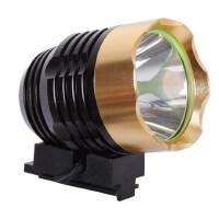 t6自行车灯山地车头灯前灯强光LED山地车配件装备骑行灯
