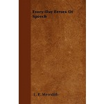【预订】Every-Day Errors of Speech