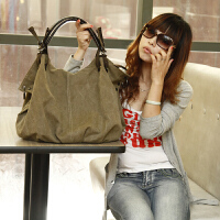 女包单肩包斜挎包手提包休闲帆布包简约大包包