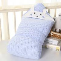 春秋冬加厚可脱胆抱毯夏季薄款包巾初生被婴儿抱被纯棉新生儿包被