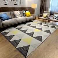 地毯卧室满铺可爱房间床边北欧简约茶几毯几何地垫家用客厅欧式k