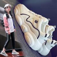 女童运动鞋春秋中大童儿童鞋小熊鞋子童鞋