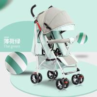 宝宝推车轻便可折叠婴儿推车折叠可坐可躺超携式宝宝伞车小孩手推车