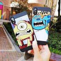 20190426152156372大眼仔iPhone6splus创意个性5s手机壳7plus潮男苹果8硅胶套X