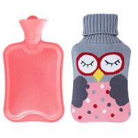 热水袋冲水老式橡胶热水袋痛经暖水袋充电暖宝宝贴橡胶热水袋