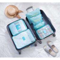 旅行收纳袋行李箱衣服整理包旅游用品衣物收纳内衣整理袋六件套装