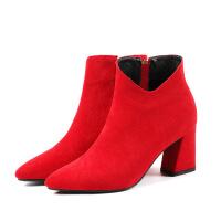 伴娘鞋女定制小码31 婚鞋靴真皮及裸靴大码-