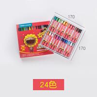 油画棒36色 儿童蜡笔幼儿园安全油化棒腊笔套装