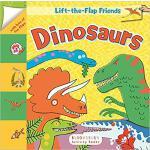 【预订】Lift-The-Flap Friends: Dinosaurs 9781681190990