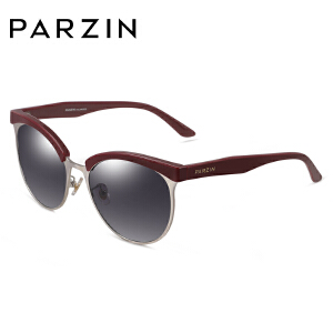 帕森潮墨镜女 时尚猫眼式太阳眼镜 TR90大框偏光镜驾驶镜男9831