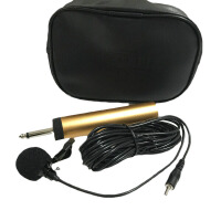 萨克斯话筒 二胡扩音器乐器专用有线话筒萨克斯吉他电容式领麦克风拾音器