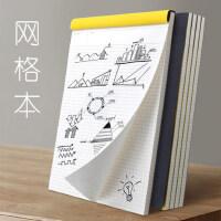 网格本A4文具本子创意大学生用笔记本a5记事方格子纸b5加厚小批发