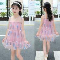 夏天小女孩子儿童装洋气连衣裙子夏季衣服装