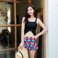 泳衣女分体保守显瘦裙式遮肚性感大码时尚小清新可爱日系泳装