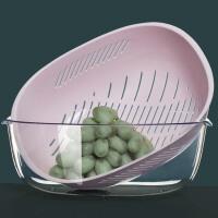 厨房家用创意淘米洗水果菜篮子水果盘双层塑料沥水篮洗菜盆洗菜篮