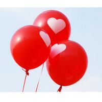 12寸 加厚加大型结婚气球 印爱心 圆形气球a