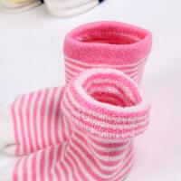 小孩袜子秋冬1-3岁宝宝婴儿0-3-6-12个月儿童毛巾袜子加厚冬