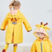 幼儿园男女童雨衣儿童雨衣雨披动物透气小学生雨衣