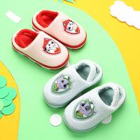 女童冬天拖鞋宝宝1-2岁小孩棉拖鞋2-3岁小女孩