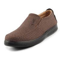 春季新款男式布鞋老北京布鞋单鞋老年人休闲鞋子透气老人鞋