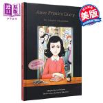 【中商原版】安妮日记(漫画小说)英文原版 Anne Frank's Diary: The Graphic Novel