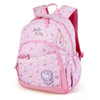 Hello Kitty凯蒂猫 KT1081粉紫 儿童护脊书包小学生减负书包 当当自营