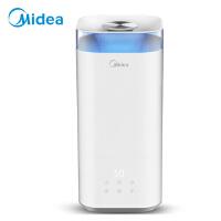 美的(Midea)SC-3C50加湿器 办公室 家用卧室5L大容量 上加水智能恒湿 香薰加湿器