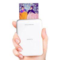 佳能(Canon)瞬彩PV-123手机彩色照片打印机迷你小型家用热升华洗相机相片神器口袋随身蓝牙便携式打冲印机抖音同款