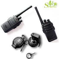 无线电对讲机 一对亲子互动户外通话器呼叫道具男女孩礼物儿童玩具