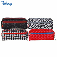 迪士尼/Disney DM25136 笔袋 颜色图案随机男女小学生文具盒大容量简约铅笔袋零钱钥匙收纳包开学文具礼物奖品