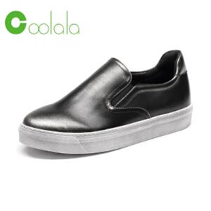 红蜻蜓旗下品牌COOLALA女鞋秋冬休闲鞋板鞋女鞋子HCB6332