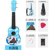 木质儿童尤克里里初学者小吉他可弹奏男女孩宝宝木制吉他玩具c