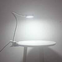 LED节能台灯护眼灯书桌夹式灯卧室床头夹子灯5W三色温切变换功能