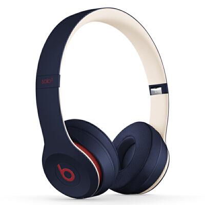 【当当自营】Beats Solo3 Wireless头戴式 蓝牙无线耳机 手机耳机 游戏耳机-学院蓝 MV8W2PA/A 自营正品保证,售后无忧,全国联保1年!