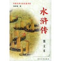 【正版二手书9成新左右】中国古典小说名书系水浒传(全二册(图文本 (明)施耐庵 时代文艺出版社