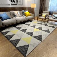 北欧地毯客厅沙发茶几毯简约现代卧室床边房间家用地垫可水洗定制y