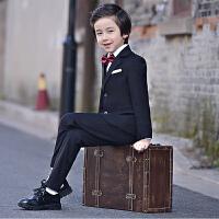 中大童男孩钢琴演出服儿童小西服帅气男童西装套装花童礼服