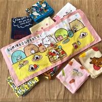 儿童毛巾洗脸棉可爱幼儿园枕巾家用动漫卡通柔软长方形y 35x78cm