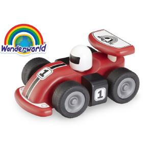 [当当自营]泰国Wonderworld 跑车 木质玩具车