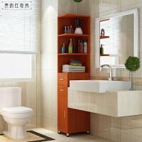 浴室边柜卫生间转角储物收纳柜置物架马桶边柜防水 墙角柜 组装