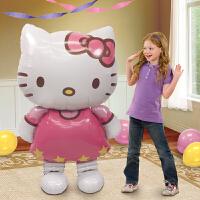 孩派 Anagram气球 Hello Kitty铝箔气球 生日派对装饰用品1个