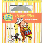 Curious Baby Music Play (Curious George Board Book & CD)好奇宝宝听音乐(卡板书附CD)9780547238760