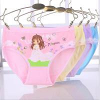 儿童三角3-4-5-6岁小女孩全棉女童儿童女宝宝裤头内裤