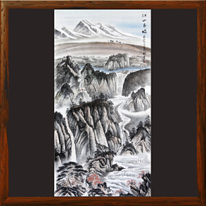 《江山多娇》黎才 广西美协会员 专职画师ML2857DHO