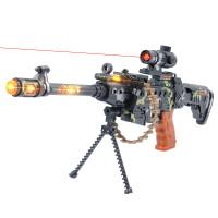 儿童电动玩具枪声光音乐震动手枪机枪男孩玩具冲锋枪