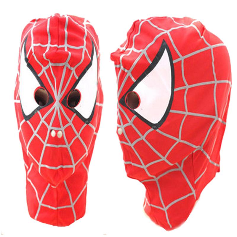 万圣节儿童节cosplay动漫面具蜘蛛侠头罩头套面罩眼罩服装  因年底放假,1月26日-2月11日订单将于2月12日开始陆续发出,介意慎拍。住各
